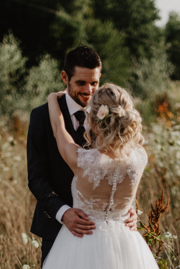 Chignon mariage coiffeur Guebwiller
